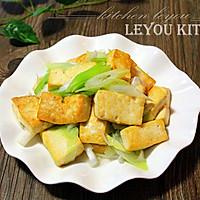 田舍葱爆豆腐