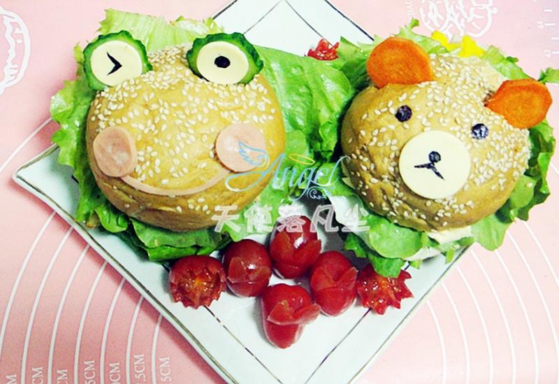 可爱的卡通蛋堡——宝宝食谱