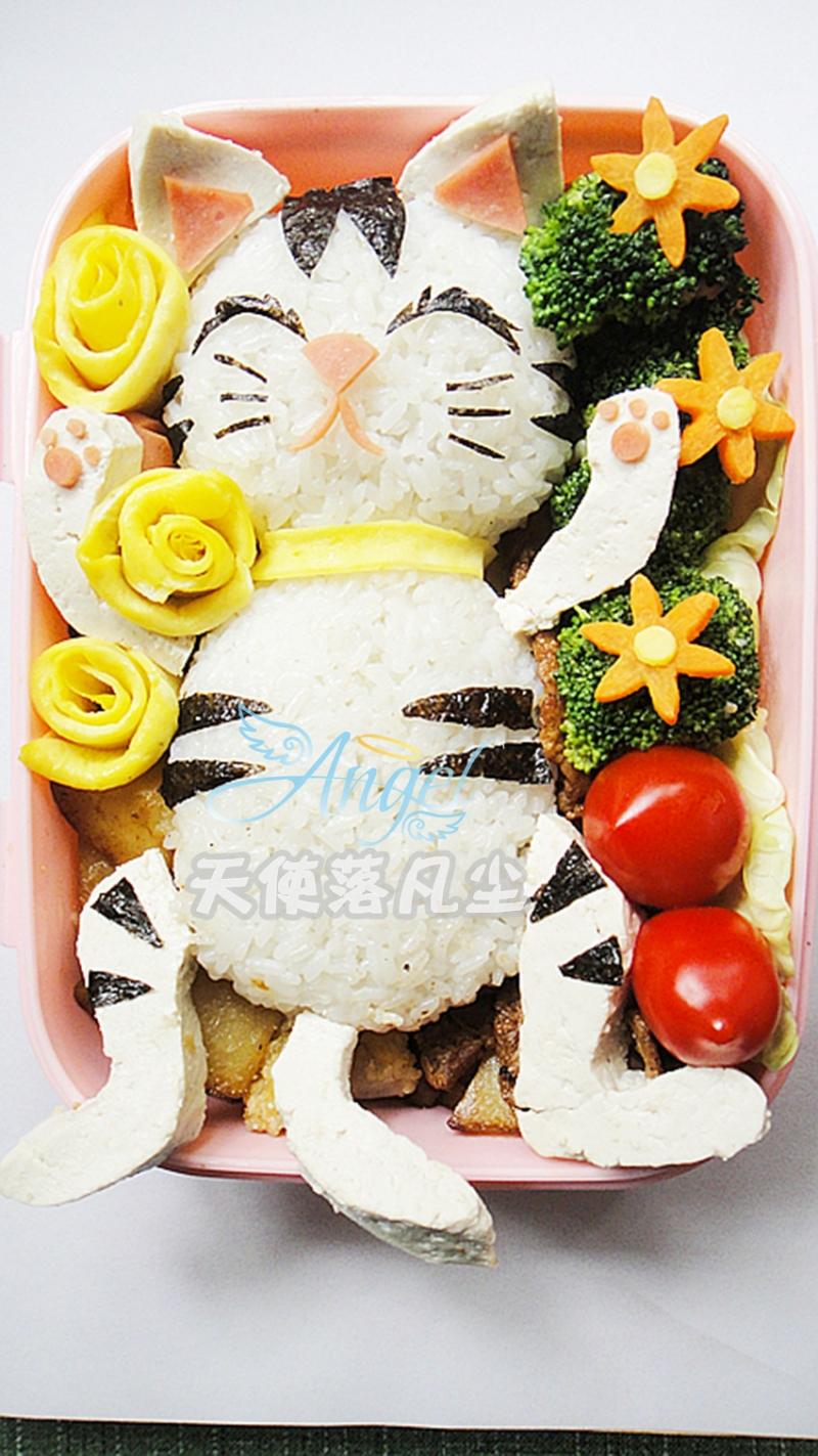 可爱猫咪便当——宝宝食谱