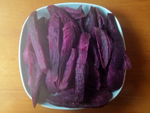 紫薯,甜糯,年糕_鸿影缥缈的美食日记