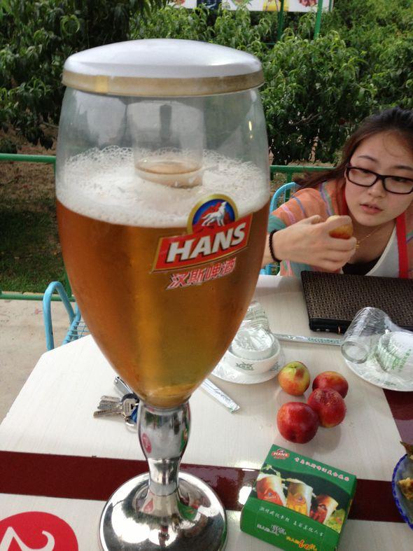 大杯酒,虾_雷老虎半夜开冰箱的美食日记_豆果美食