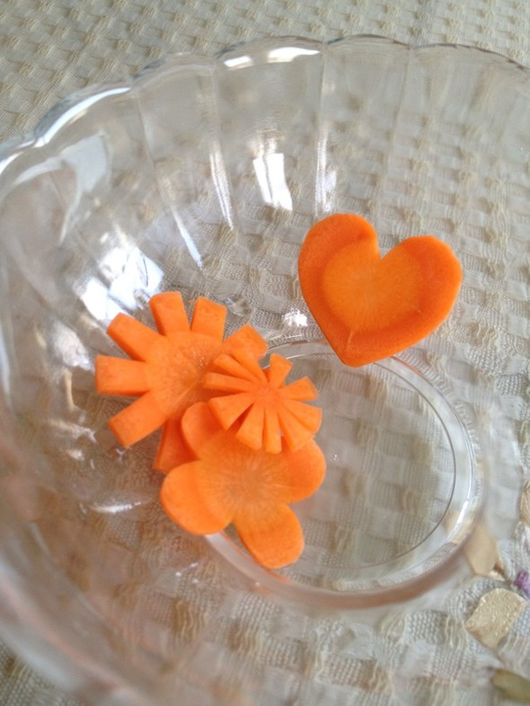 胡萝卜小雕花