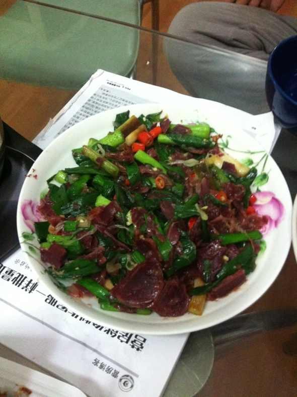 日记 美食 炒牛肉 大蒜/大蒜炒牛肉