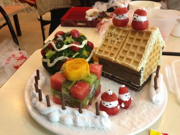 美食小吃,创意水果拼盘,各种美食做法大全图片