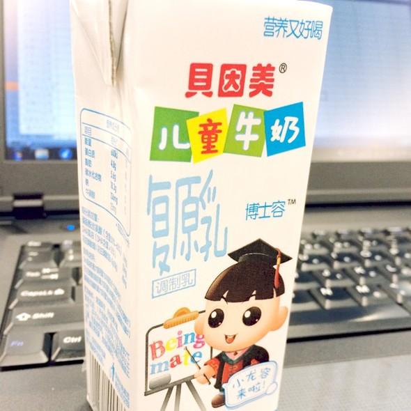 贝因美儿童牛奶