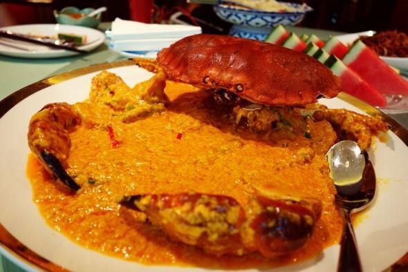 黄咖喱面包蟹