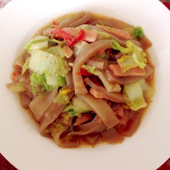 炒魔芋豆腐