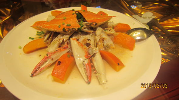 广州美食 海鲜 螃蟹