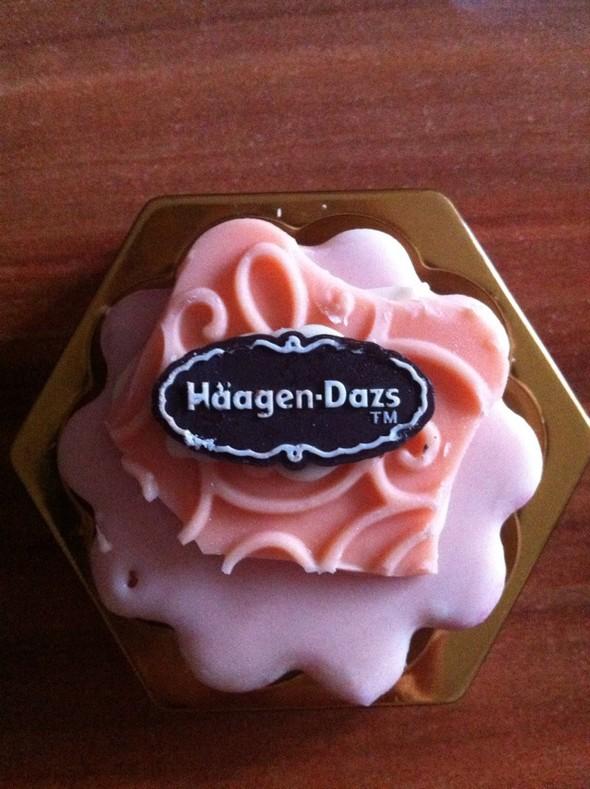 哈根达斯草莓冰淇淋月饼