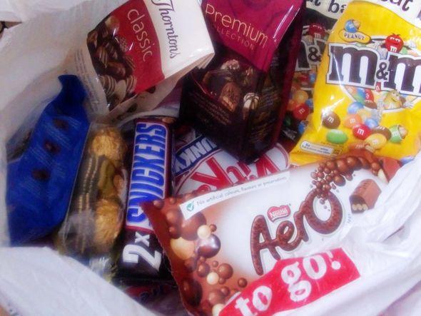 吃货的巧克力们图片