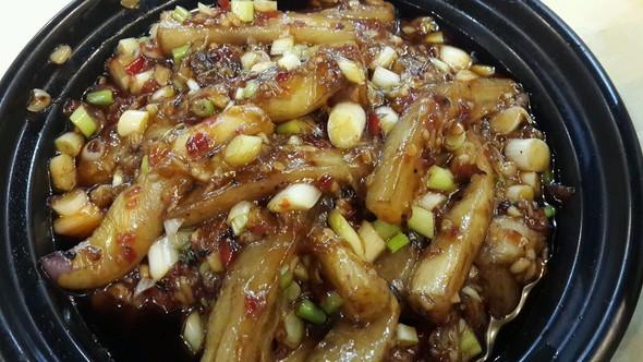 鱼香茄子煲,酸菜鱼_春晓or田晓的美食日记_豆果美食