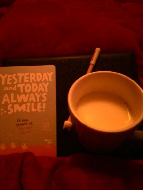 晚安热牛奶