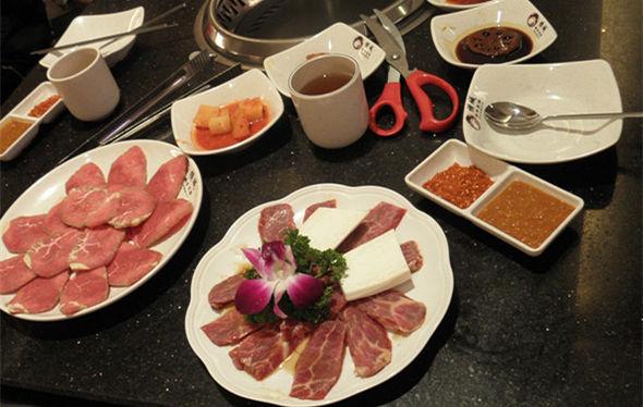 韩国烤肉思密达
