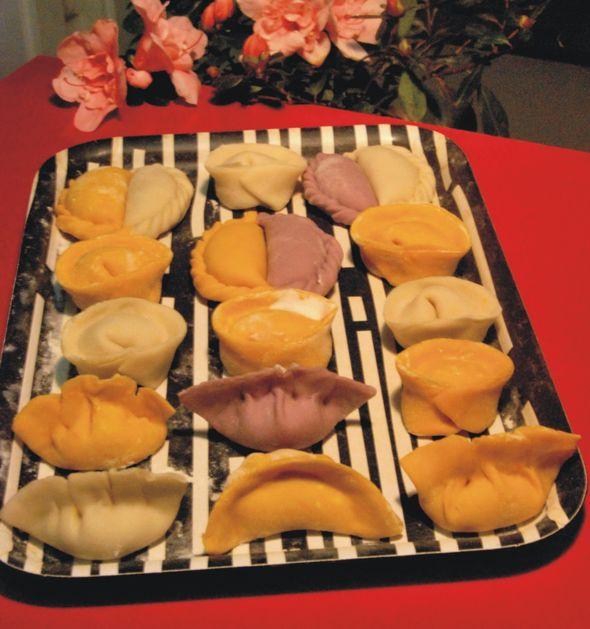 花样饺子_魅力小煮的美食日记