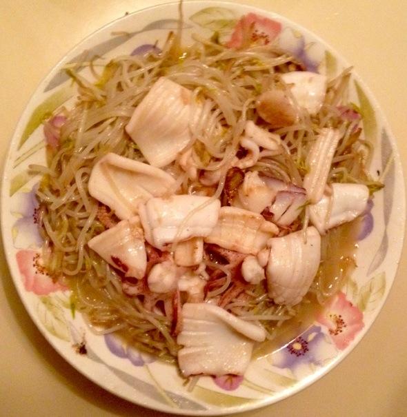 东海岛海鲜美食沙虫