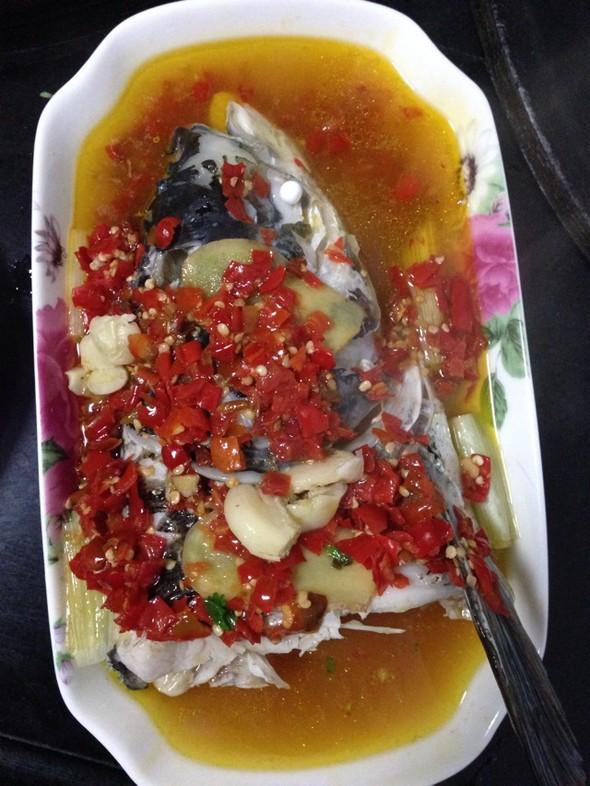 日记 美食 鱼头 剁椒/剁椒鱼头