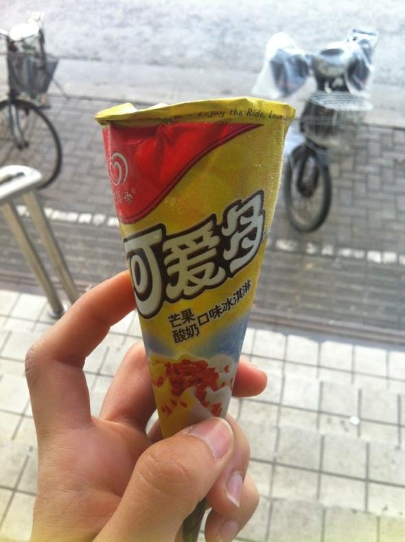 芒果酸奶可爱多22:32 这个味道好吃 分享 新浪微博qq空间腾讯微博豆瓣