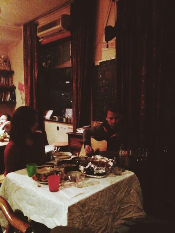 外国人 情歌/吃完饭唱起情歌的外国人