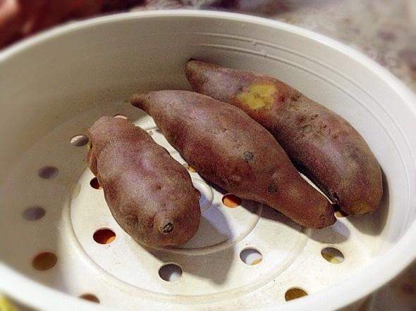 红薯手工做小动物图片