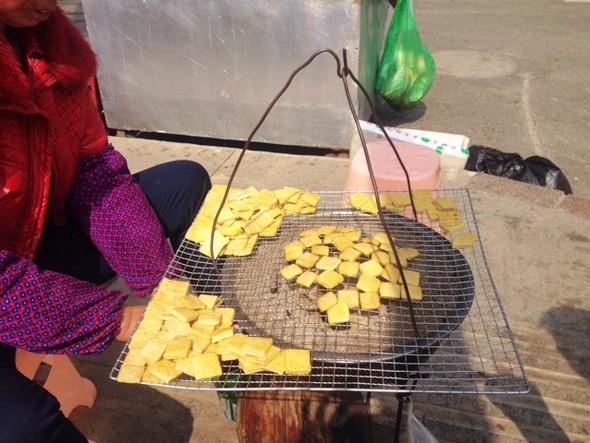 烤小豆腐-贵州特色