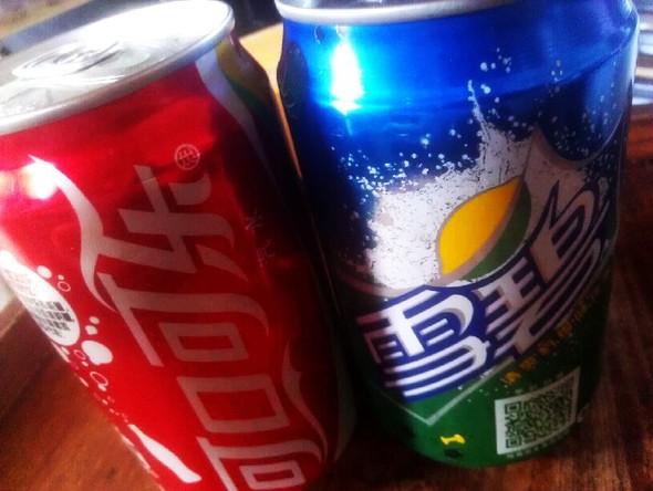 可口可乐vs雪碧