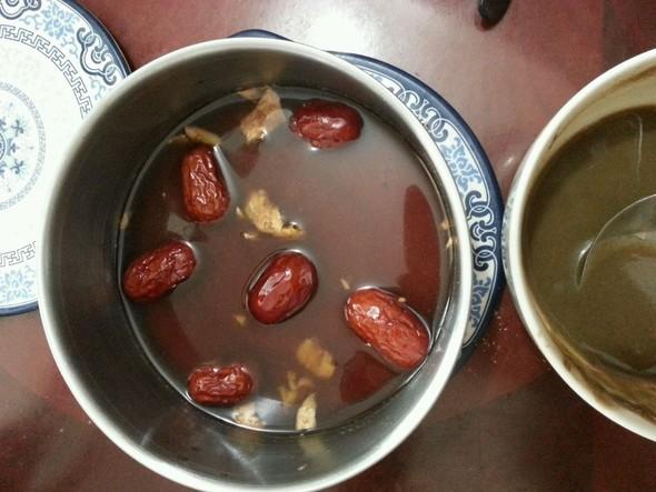 红枣姜糖水,五谷杂粮糊