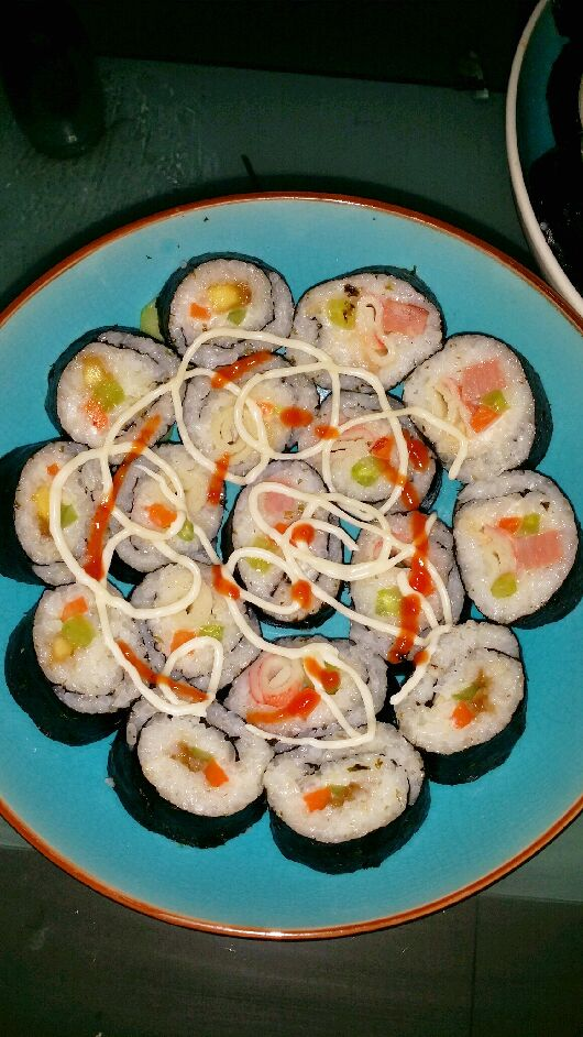寿司制作中