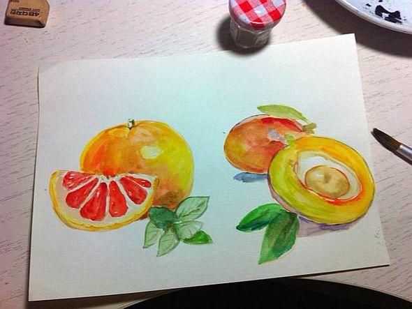 青泥手工制作图片水果