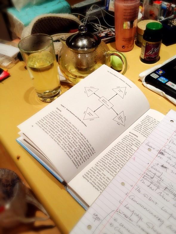 边喝茶边看书_rhein的美食日记