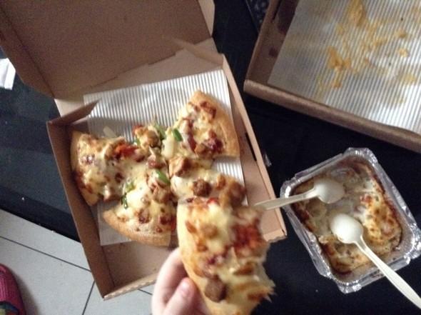 培根/地中海风情烤鸡披萨