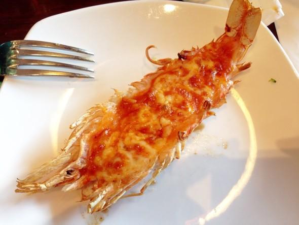 芝士焗大虾,大虾,虾_柒羕.manger的美食日记_豆果美食图片