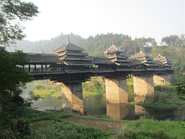广西 三江侗族自治县 风雨桥图片