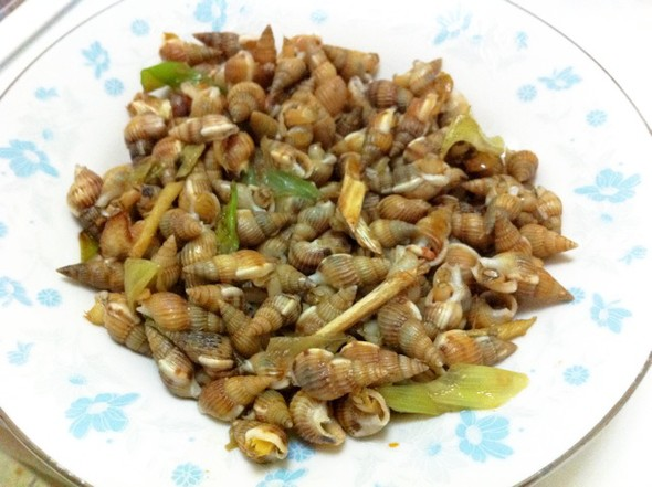 炒海螺丝_妍维尼私房菜的美食日记_豆果美食