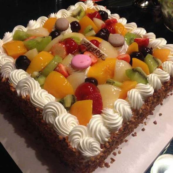 朋友的生日蛋糕
