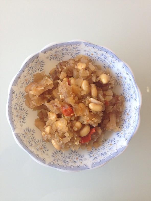 美食 黄豆/黄豆咸菜