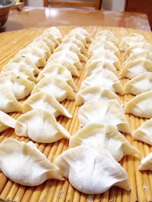 包饺子,面面,馅儿_鸿影缥缈的美食日记
