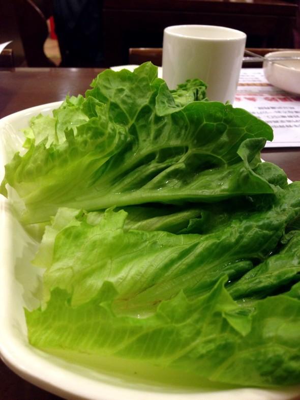 生菜叶.,猪五花,免费小菜