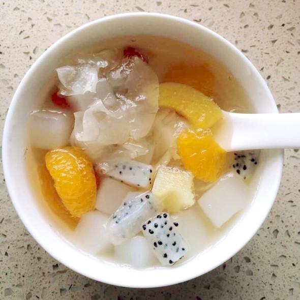下午茶:水果粥