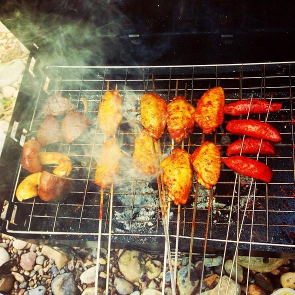 每年因烧烤引发的火灾