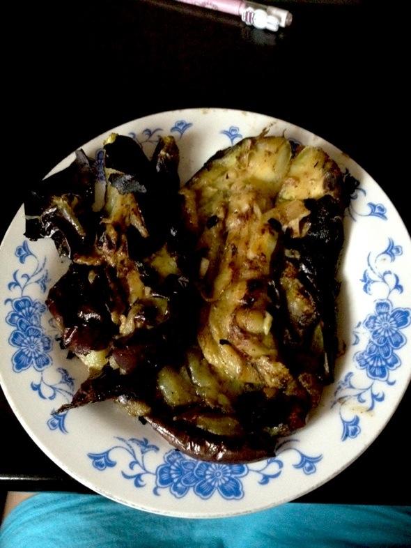 烤茄子_ying小饕的美食日记