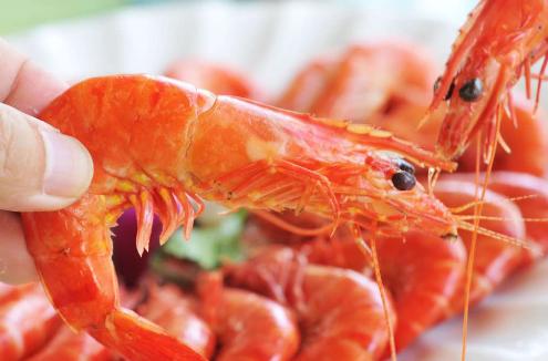 好吃的大虾图片