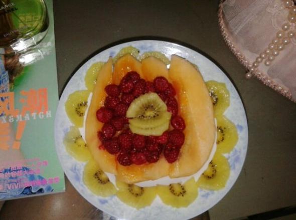 水果盘_丸子爱吃小樱桃的美食日记