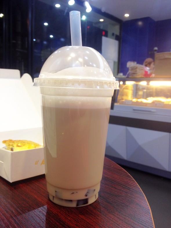 玛奇朵奶茶_wynne yu的美食日记