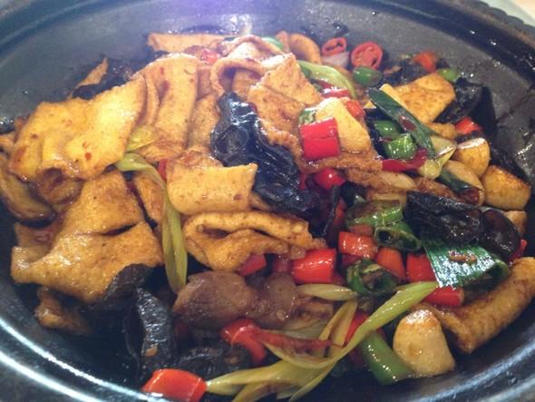 干锅千叶豆腐红烧肉