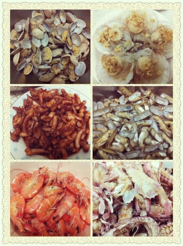 海鲜大餐_妍维尼私房菜的美食日记_豆果美食