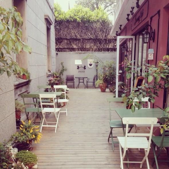 100平小花园设计实景图